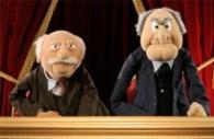 Αριστερά ο Boson de Higgs δεγιά ο Σούπερ Μάριο στη σημερινή συνέντευξη Τύπου
